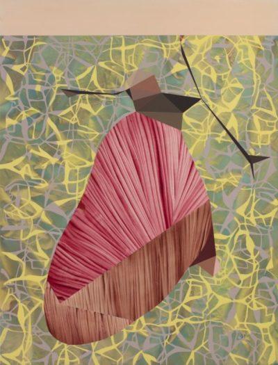 Psique, 2020-21. Acrílico sobre lienzo, 195 x 130 cm.