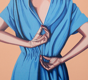 Helena Toraño - Vestido Azul